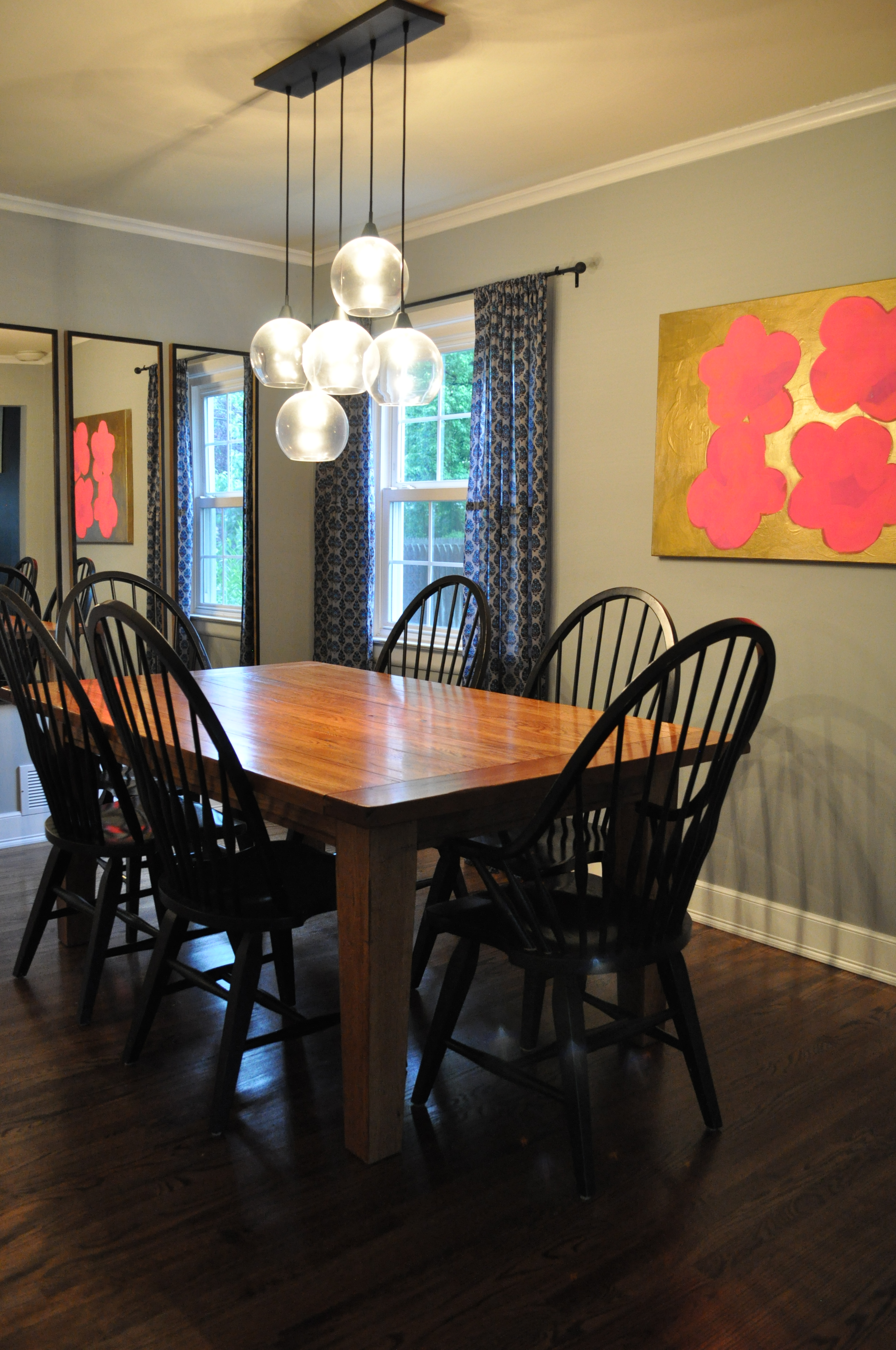 finished dining room Dining Room Update