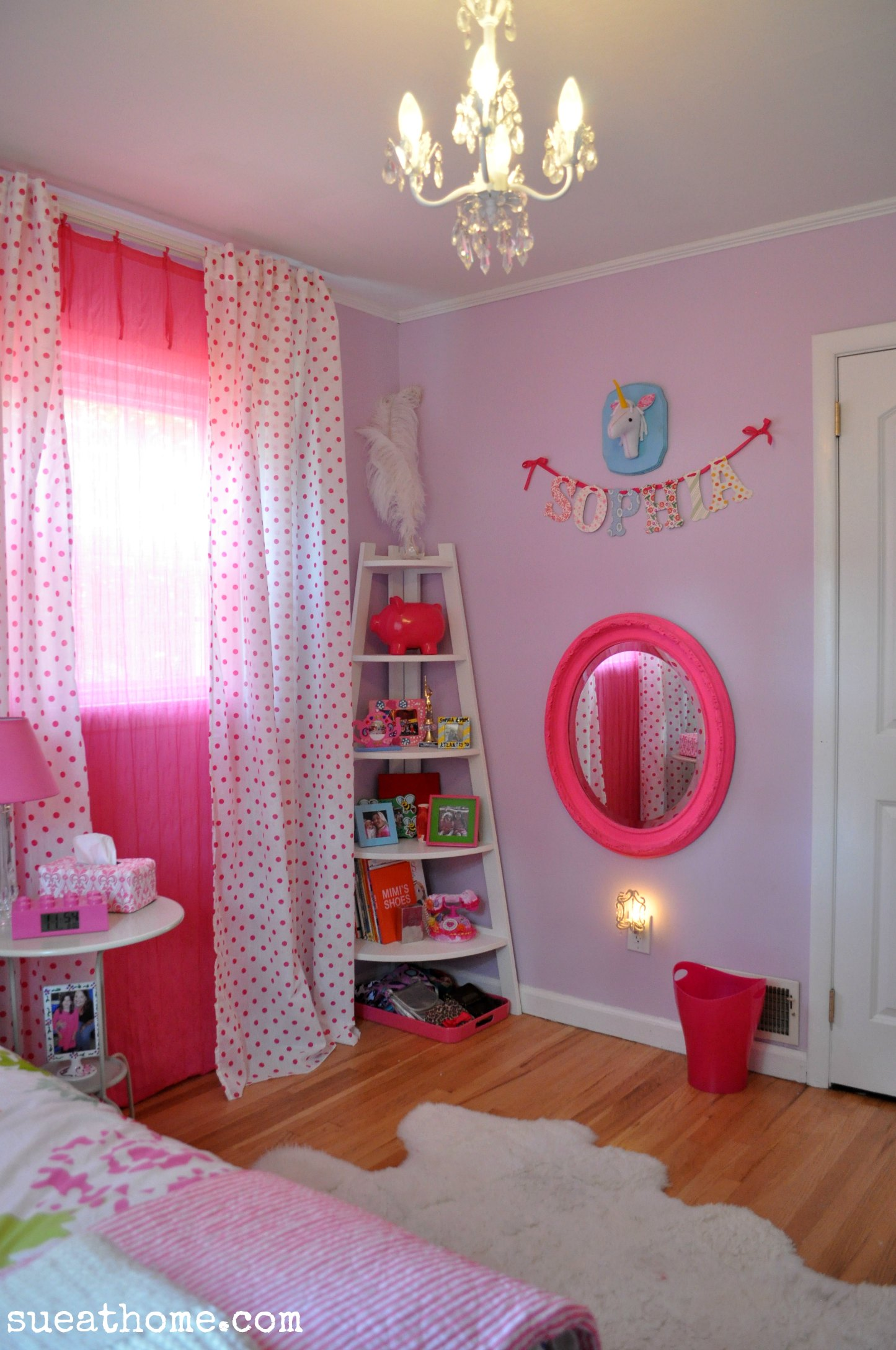 Room For Girls Design: Bright Girls Room