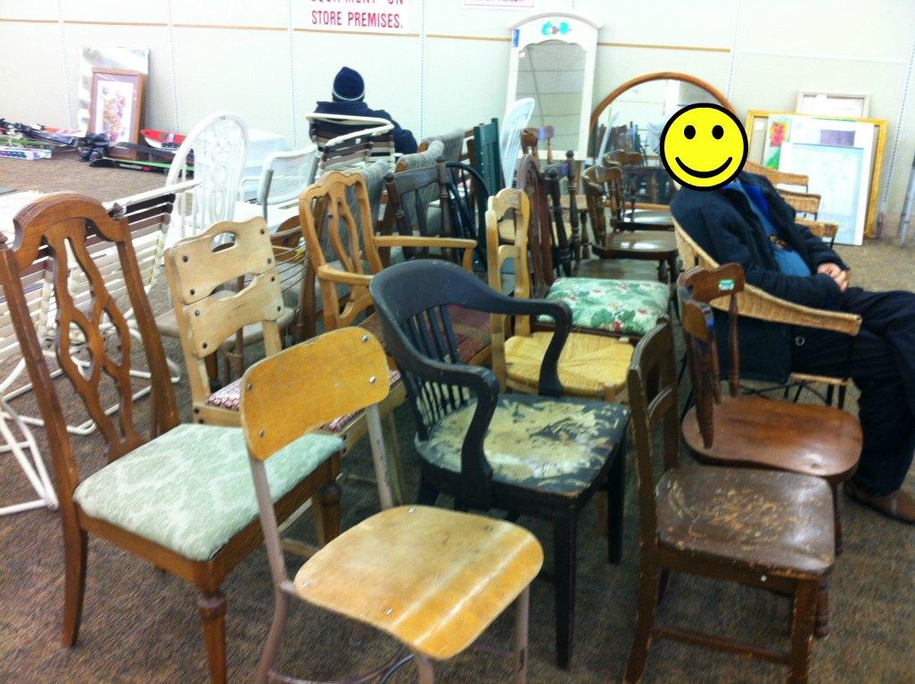 Thrift shop lyrics thrift store challenge chairs