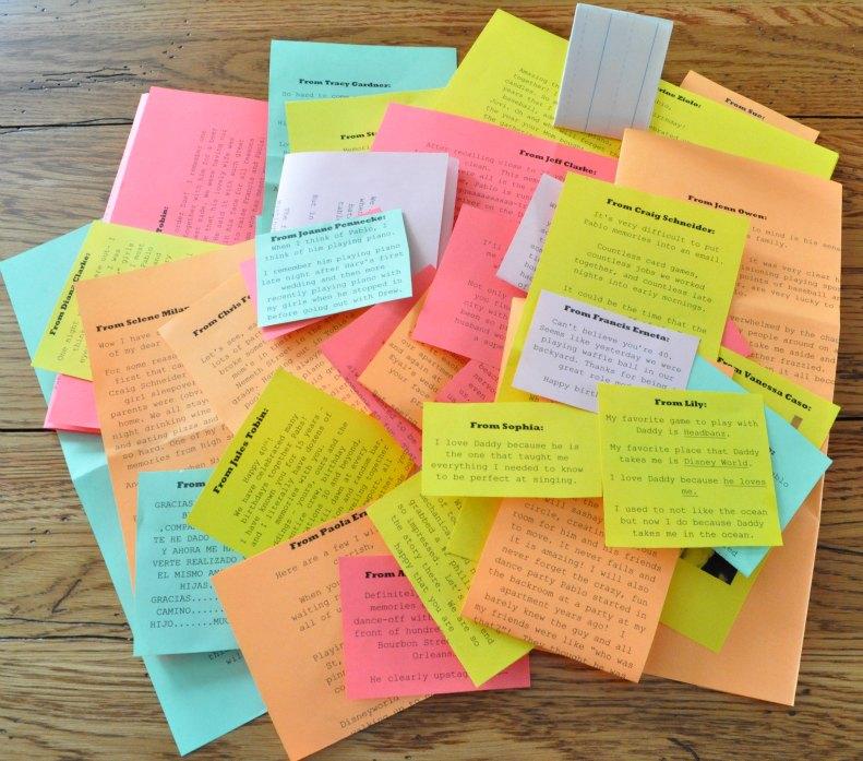 birthday envelopes sue at home