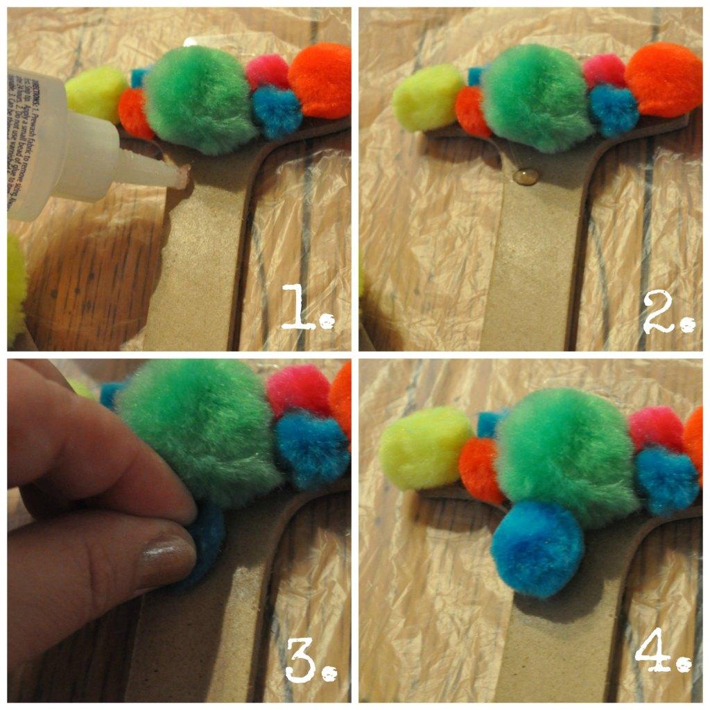 FUn pom pom collage