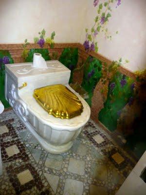 marble toilet