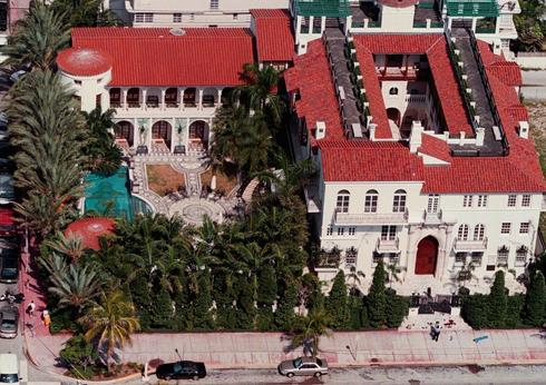 versace mansion overhead