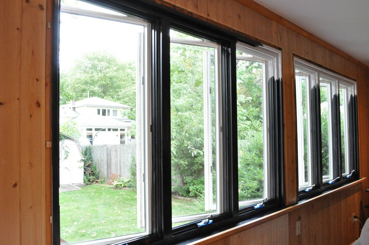 black-093 & Black Window Trim | Sue At Home