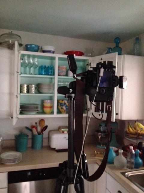 camera in kitchen