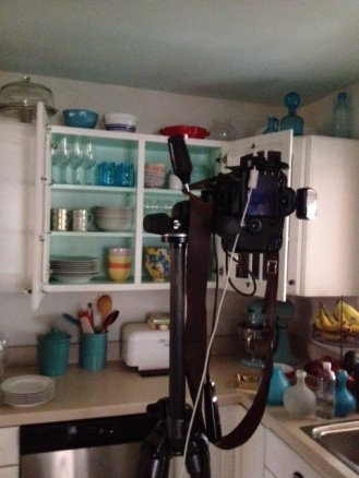 camera in kitchen