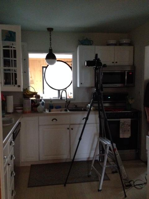 loght in kitchen