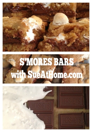 s'mores pin collage