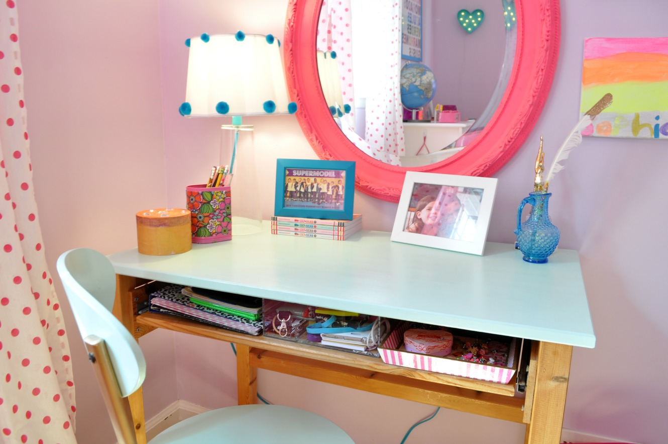 desk and vanity combo. sophs desk 117 A New Old Desk by  Sophia at Home Sue At