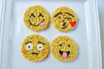 Sue at Home Emoji Rice Krispies 4.2