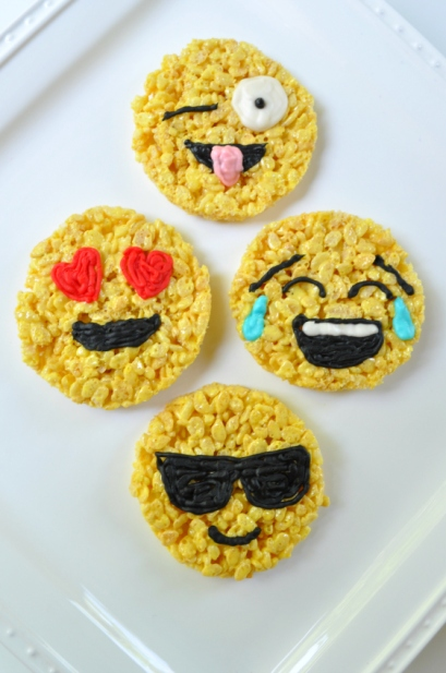 Sue at Home Emoji Rice Krispies 4 vert