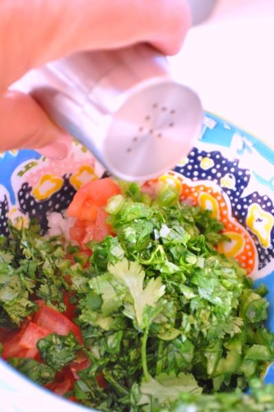 Sue at Home Guacamole pepper